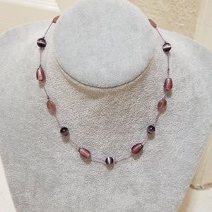 """New """"Express"""" pink Beaded Necklace!"""